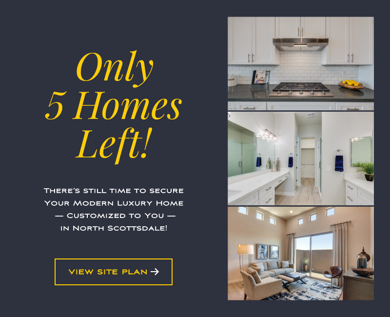 Only 5 Homes Left!